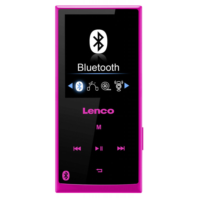 Φορητό MP3-MP4-Player Xemio 760 BT 8GB Ροζ