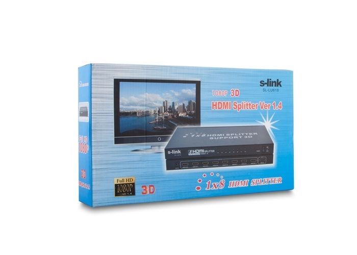 8 Port HDMI Splitter