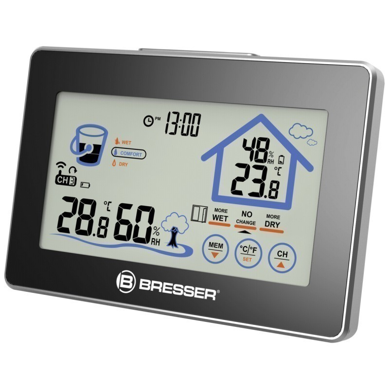 Thermo- / Hygrometer with ventilation indicator