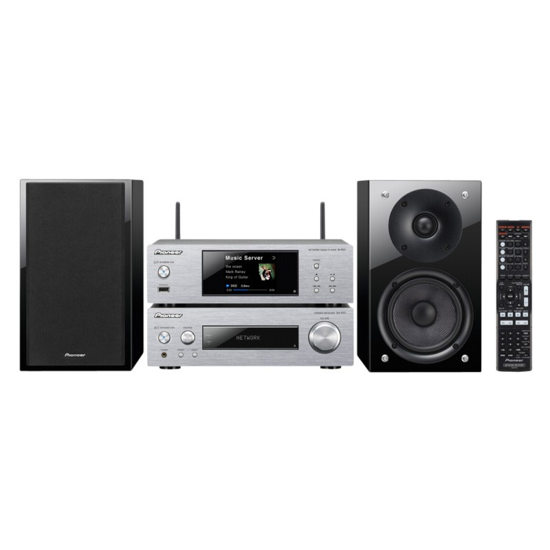 Network-HiFi-System with Bluetooth P2-S Silver